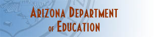 Arizona Department of Education Header